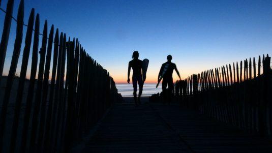 Carcans Plage - surf - atlantikküste Frankreich