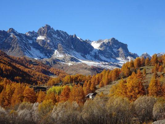 Chalet d'en Ho im Herbst