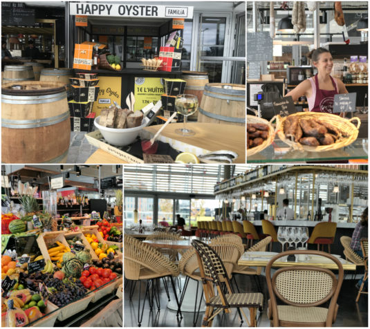 Halles Bacalan Bordeaux - Markthallen, Tapas, Austern und Restaurant