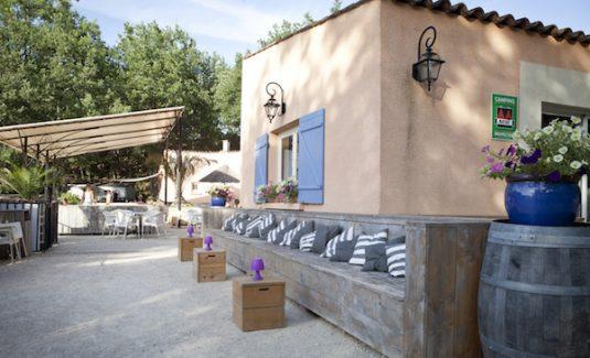 Bar Café Campingplatz La Vallée Verte