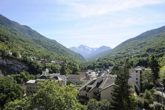 französische Kurort Brides-Les-Bains