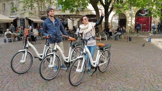 Fahrradtour in Bordeaux