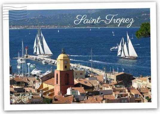 Gruesse aus Saint Tropez
