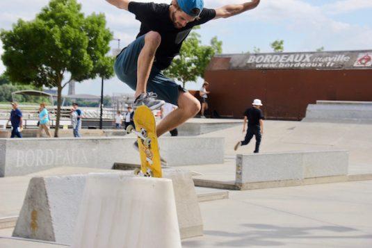 Skatepark in Bordeaux