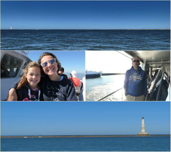 Unterwegs nach Leuchtturm von Cordouan an der Atlantikküste