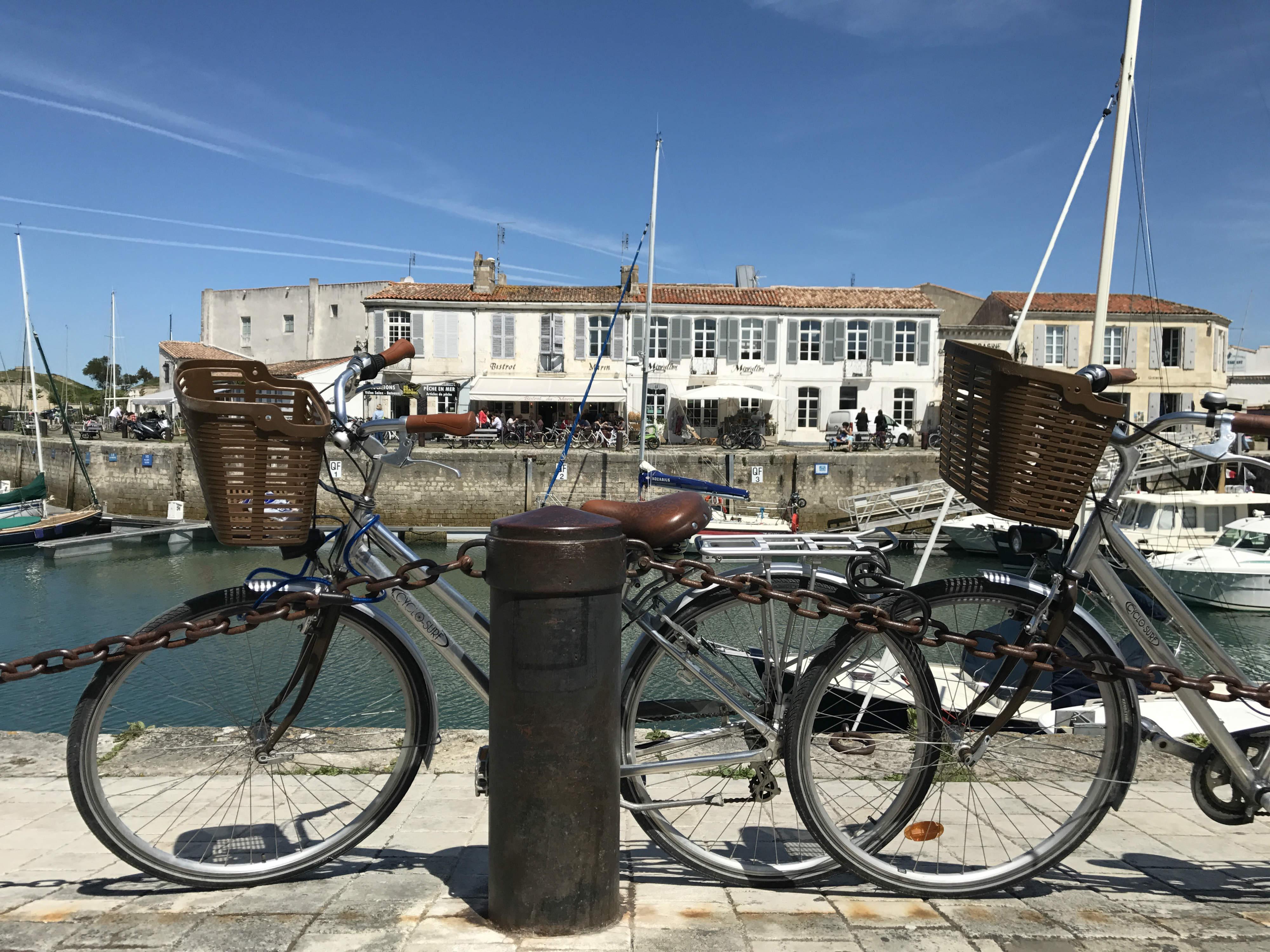 Radfahren ganz easy an der Atlantikkueste