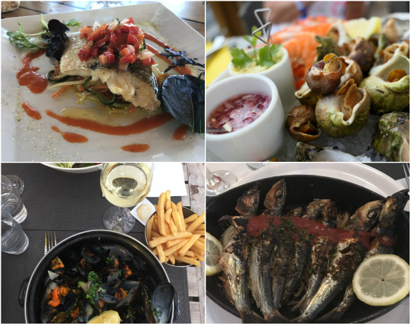 Restaurants an der Atlantikküste mit leckerem Fisch