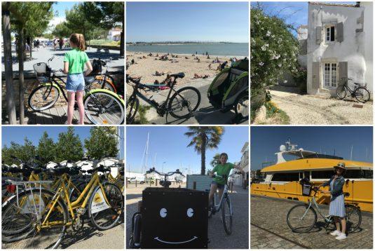 Radfahren an der atlantischen Küste mit der ganzen Familie