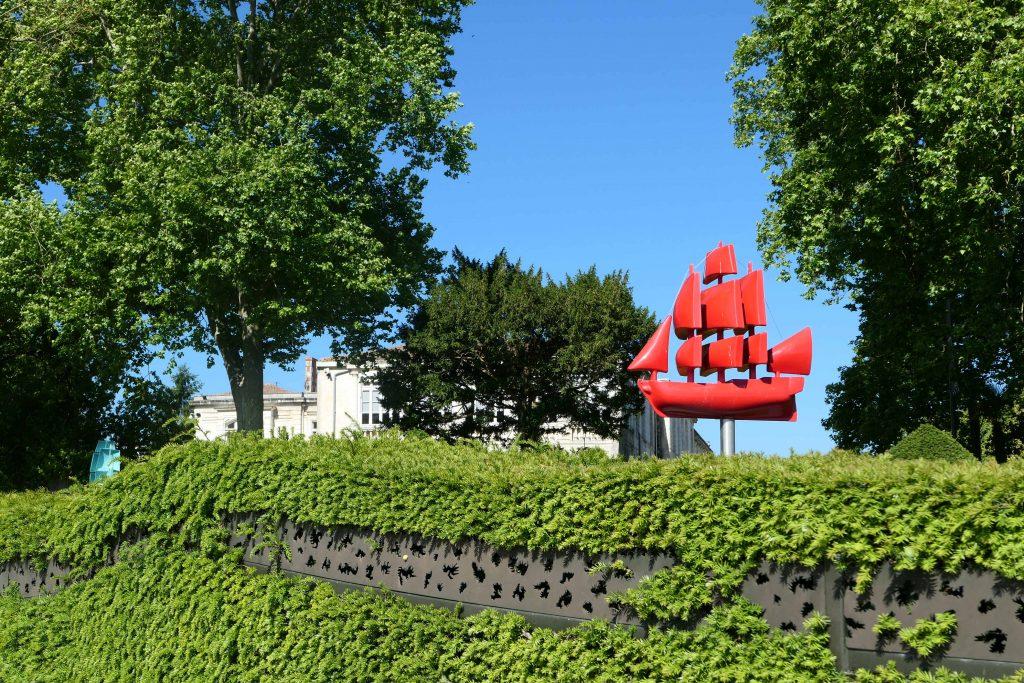 Rochefort, Heimathafen der Fregatte Hermione