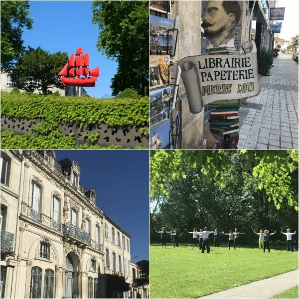 Rochefort eine Stadt an der Atlantikkueste