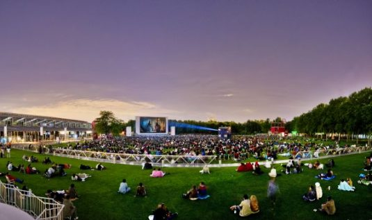 Cinéma en plein air Villette Paris