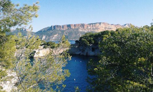 Trail in der Nähe von Cassis