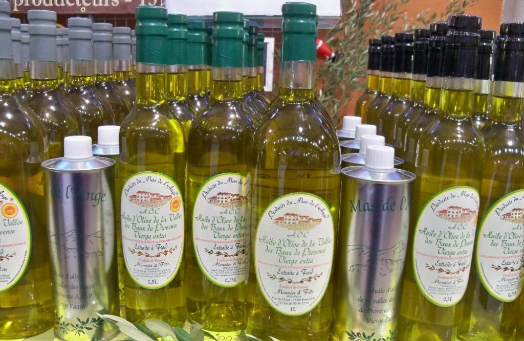 Französisches Olivenöl