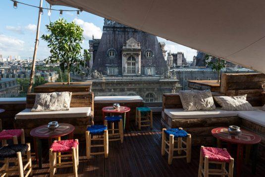 Dachterrasse Le Perchoir Paris