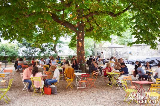Saint Germain Sommer Terrasse