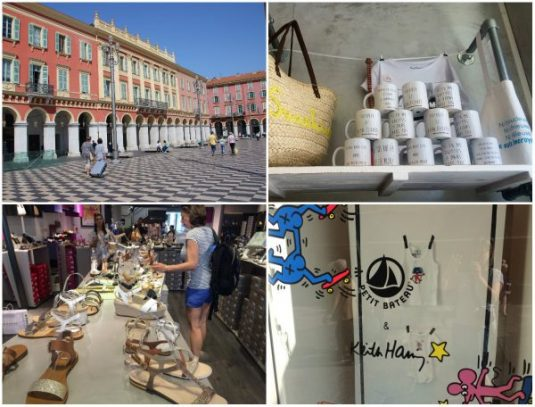 Cours Rue Massena in Nizza - Shopping