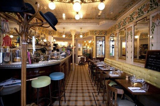 Gut bistros im Parijs