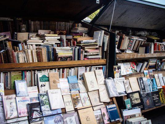 Parijs im der fallen rentree litteraire