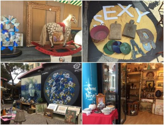 Flohmarkt und Brocantes in Nizza