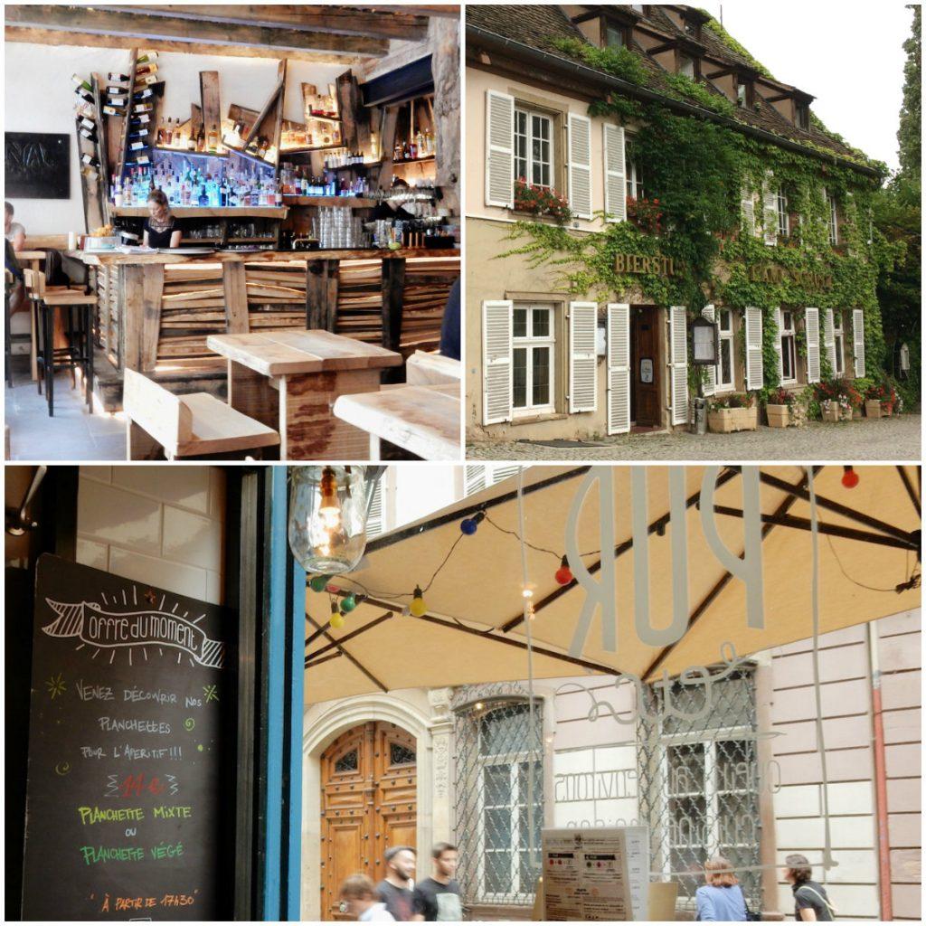 Caupona, Bierstube l'Ami Schultz und PUT etc. Restaurants in Strassburg