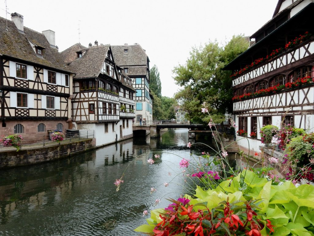 Viertel La Petite France in Strassburg
