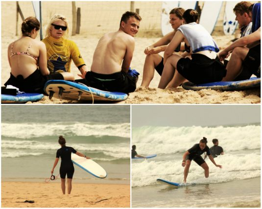 Surfurlaub im Pura Vida Lodge an der Atlantikküste Frankreichs
