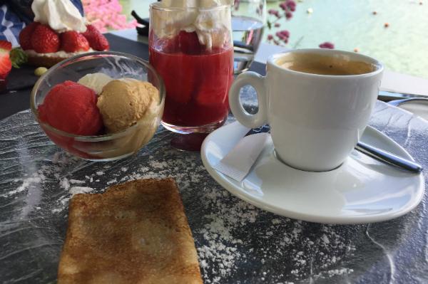 cafe gourmand bestellen frankreich