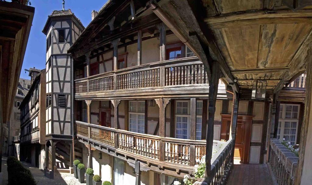 Cour du Corbeau, Vier-Sterne-Hotel in einem Altbau in Strasbourg