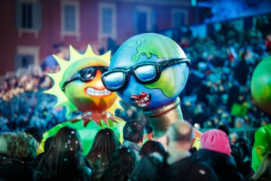 Karnevall Nizza Frankreich