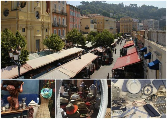 Brocante Markt in Nizza