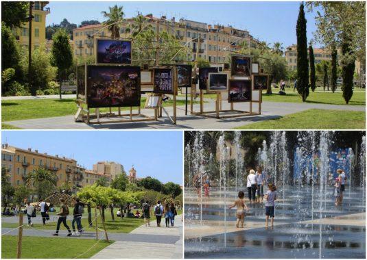 Promenade du Paillon in Nizza - Garten