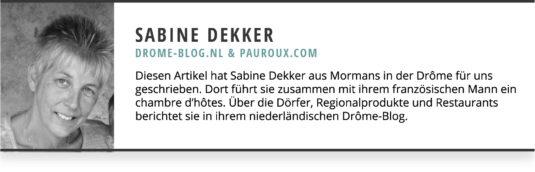 Sabine Dekker Gastblogger