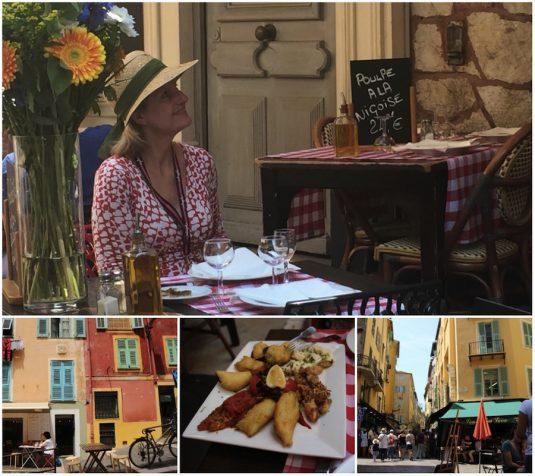 Vieille Ville in Nizza