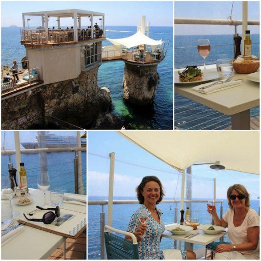 restaurant le Plongeoir im Nizza