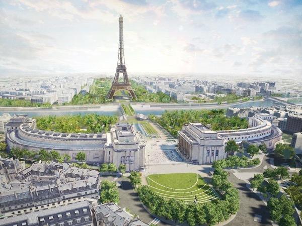 Eiffelturm in 2024