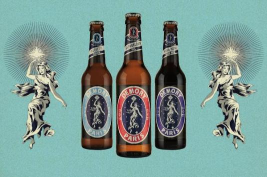 Demory bier aus Paris