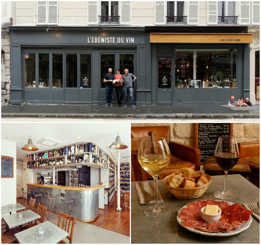 L'Ebeniste du Vin Paris Wein Bar