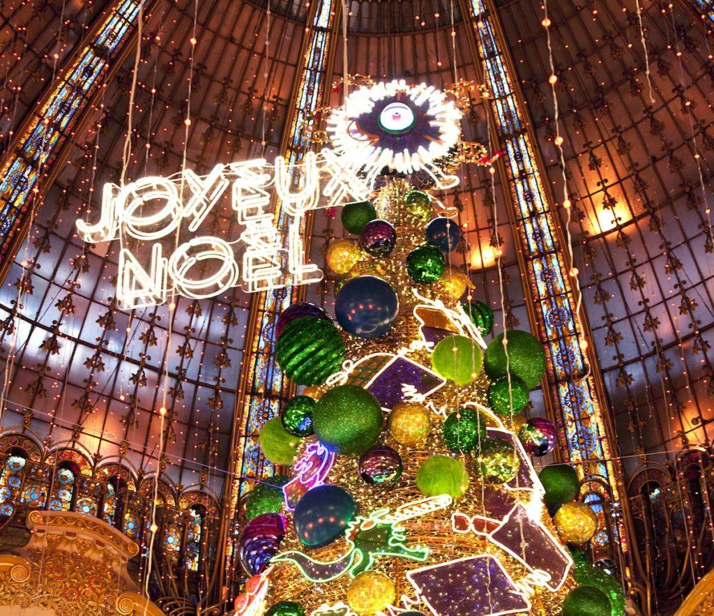 Die schönsten Weihnachts-Schaufenster in Paris in 2018