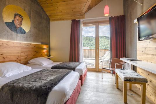 Hippes Berghotel: Anova Hôtel
