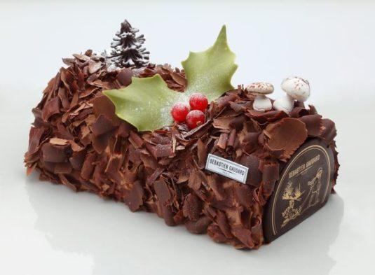 das Weihnachts-Dessert istbûche de Noël