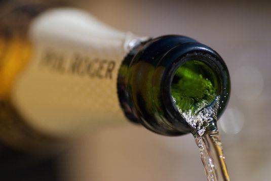 Champagne für Silvester in Frankreich