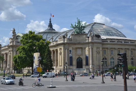 Le Grand Palais Museum in Paris