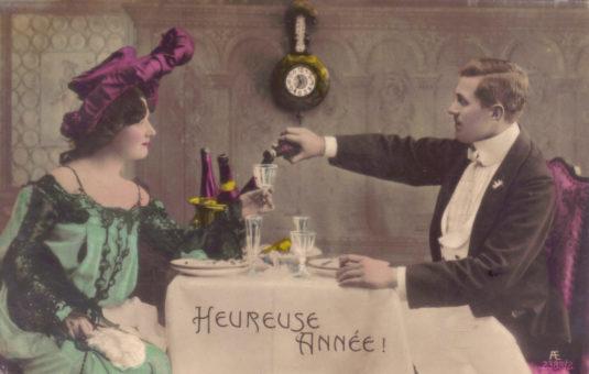 Heureuse Annnee - Frohes Neues Jahr