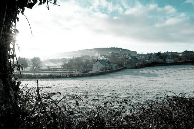 Saint-Léger-en-Beuvray Dorf im Burgund