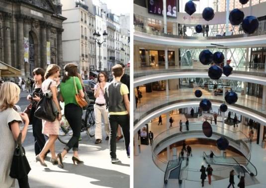 Einkaufzentrum Paris - beaugrenelle - schlussverkauf in Frankreich