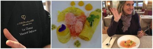 Au Coeur du Village La Clusaz Le Cinq Patissier Restaurant Chef