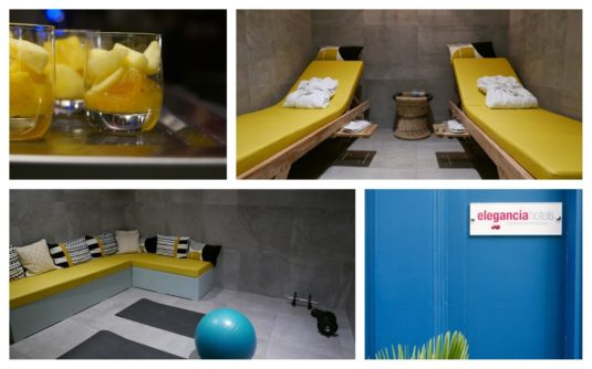 Wellness Bereich im Bob Hotel in Paris