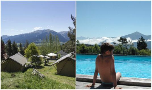 Naturcampingplatz In den Pyreneen