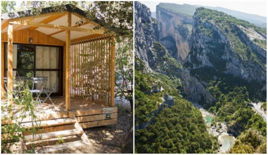 Campingplatz in den Cevennen Gorges du Tarn