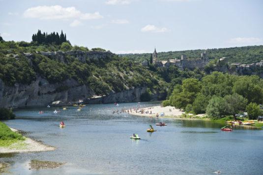 Natur Campingplatz in der Ardèche am Fluss